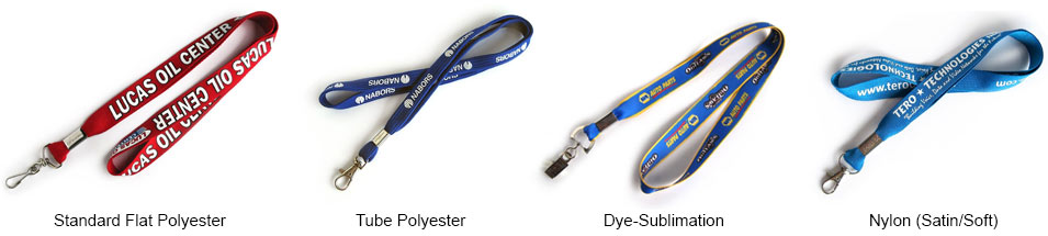 Custom Lanyard Options