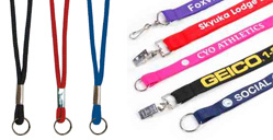 Custom and Blank Lanyards