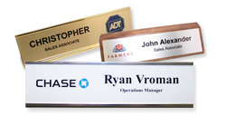 Desk Name Plates and Wall Name Plates