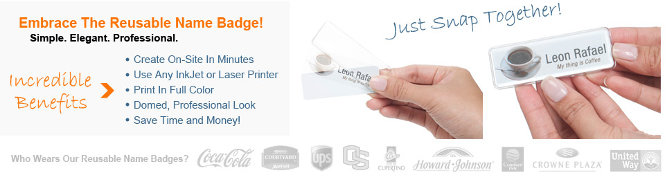 Reusable Custom Name Badges And Tags Best Name Badges
